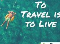 Travel Quotes / Travel Quotes we love.  Inspiring quotes to keep moving.