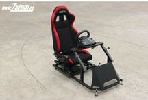 Simuladores Zalem / Todos nuestros productos para los Simracers. - Simuladores de carreras - Gaming cockpits - Simracing products - Racing seats