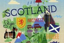 Travel Poster - Scotland / Beautiful posters - come to Scotland