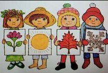 Počasí, roční období, oblečeni