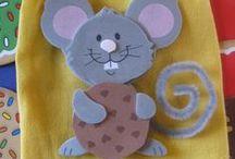 Myši, Kočky