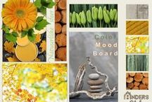 Colour - Gel - Gelb - Yellow - Anders Style / Geel:  Een opwekkende vrolijke en energiegevende kleur. Geel is een warme zonnige en overstralende kleur, dat ruimtevergrotend werkt in het interieur. Geel activeert de hersenen en zenuwen en staat voor communicatie en creativiteit.