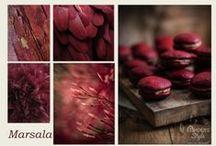 Marsala - Anders Style / Marsala is één van de lente/zomer kleuren voor 2015. Marsala is een wijn die gemaakt wordt in de buurt van de plaats Marsala op het Italiaanse eiland Sicilië.  De kleur van marsala is een diepe kleur rood met een iets koperbruine ondertoon.