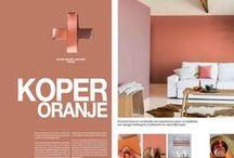 Koper & Oranje - Copper & Orange - Anders Style / Colour of the year 2015