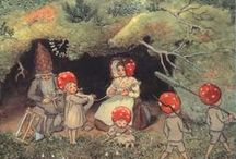 Elsa Beskow and sweet vintage