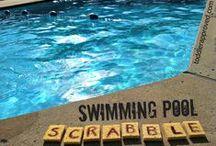 Vesileikkejä / Ideoita vesileikkeihin saunasta rannalle ja uimahalliin