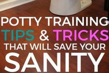 Potty Training / Potty training isn't easy - but it doesn't have to be impossible. Check out this board for some awesome tips + tricks on how to potty train your toddler.