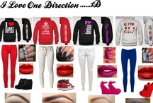 One Direction fashion / imagine wearing this with each event with one direction