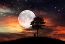 Ilustraciones de la Luna / Ilustraciones, fotografías, montajes de la luna
