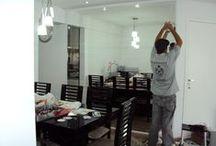 Espelhos Sala / Decore seu ambiente utilizando Espelhos para ampliar e personalizar sua casa.