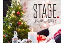 Kamppi Stage Lahjakasta joulua 2014 / Parhaat ideat pukinkonttiin ja joulun juhlintaan kotona ja kaupungilla löydät Kampista. Lisää inspiraatiota Kampin Facebookissa: www.facebook.com/kauppakeskuskamppi