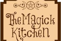 The Magick Kitchen / Kitchen Magick, recipes, spells, Pagan/Wicca/Witchcraft themes.
