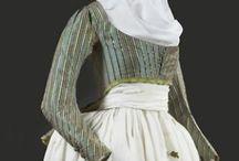 Klänningar 1700-tal