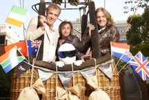 Top Gear / Jeremy Clarkson, Richard Hammond, James May and The Stig.