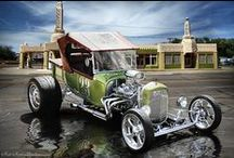 Hot Rods & Customs / Modified cars & Dragsters