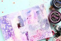 Abstract Inspiration - Art Journaling