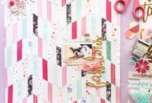 Abstract Inspiration - Scrapbooking