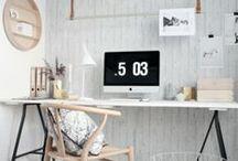 Flip clock office
