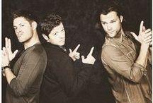 Jared & Jensen & Misha / Jared Padalecki & Jensen Ackles & Misha Collins