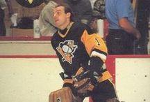 penguins goalies / hockey