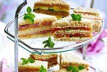 Teatime / Sandwiches, cakes, tea