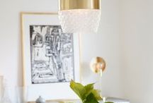 Brass Luminaires / Brass pendant, wall, table and floor lamps for living rooms, kitchens, bedrooms and bathrooms from Sessak