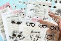 Zinia Amoiridou Designs Stamps