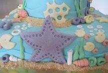 Little Mermaid Ariel Cake