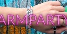 Girls Who #Armparty / How to style your favorite Jewelry brand! Check this board for our favorite #armparties and inspirations behind our brand!