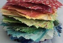 June Swap - Rainbow Scrap Bags
