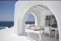 G R E E K  I N T E R I O R / Interior Design / by Valentina Masetti