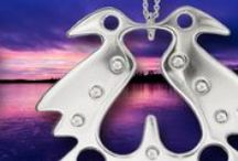#Riipukset, #Pendants / #Riipukset, #Pendants, #Schmuckanhänger, #Pendentifs, #КУЛОНЫ  Lapin koruja, hopeasepänliike Inarin Hopea. Jewellery from Lapland, Inari, Finland. Silver jewellery #inarinhopea, #inari, #lappi, #lapland, #jewellery  www.inarinhopea.fi