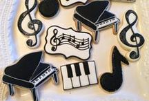 COOKIES ~ MUSIC ♫♪♫ / •*¨*•★no pin limits★•*¨*• / by Ann Marie
