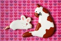 COOKIES ~ MEOW  。^・ェ・^。 / •*¨*•★no pin limits★•*¨*•  / by Ann Marie