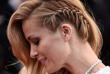 Penteados com trança / Penteados - tranças