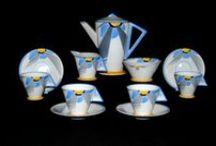 Art Deco China & Pottery