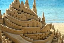 Sand Creations / sand sculptures, sand art, sand designs, sand castles, and all things beach sand related