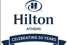 Hilton Athens Celebrates 50 Years / This year, we are celebrating our 50 year-anniversary at the Hilton Athens and we'd like you to be a part of this!