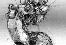3d futuristic design