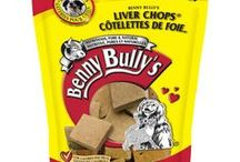 Liver Chops® - Dog Treats / Made from pure, natural beef liver, we slice and specially size each piece to provide easy feeding and a maximum palatability that attracts even the pickiest of pets. For the health conscious pet owner, Benny Bully's is hand selected from government inspected meat sections and the pure, natural fillets of beef liver offer your pet an authentic flavor.