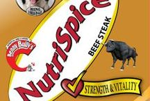 NutriSpice™ - Food Toppers / For the pickiest of pets, there's Benny Bully's NutriSpice™ a pure, natural, and savoury addition to any pet food. Shake it up a notch!