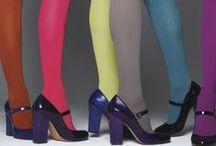 Fashion / I love color tights!
