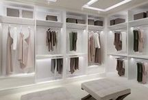 W A R D R O B E / Ideas - how to design your own walk in closet. Or..just dream about it :)