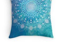 KELLY SULLIVAN Mandala Apparel / My mandala designs applied to a variety of cool apparel items ready for you to use.