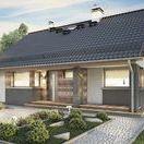 Budowa domu wg projektu Ricardo / Parterowy domek wg projektu #Ricardo autorstwa Studio Atrium http://stalowedomy.pl/realizacja-ricardo/