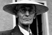 hermann hesse, 1877 - 1962 / July 2, 1877 - August 9, 1962  Nobel Prize for Literature, 1946  The German-Swiss Nobel Prize winning author Hermann Hesse, who died 50 years ago, wrote not only novels like Steppenwolf and the Glass Bead Game, but also thousands of letters.