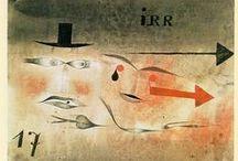 paul klee (1879 – 1940) / Paul Klee (18 December 1879 – 29 June 1940) was born in Münchenbuchsee, Switzerland, & is considered both a German & a Swiss painter.