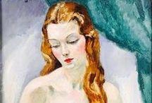 kees van dongen (1877 - 1968) / Cornelis Theodorus Maria van Dongen, AKA Kees van Dongen or just Van Dongen, was a Dutch painter. Born: January 26, 1877, Delfshaven Died: May 28, 1968, Monte Carlo