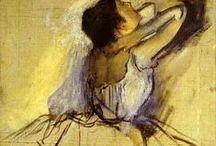edgar degas - dancers / Edgar Hilaire Germain Degas 1834-1917