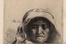 rembrandt, drawings & etchings